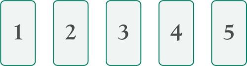 Difundir 5 cartas