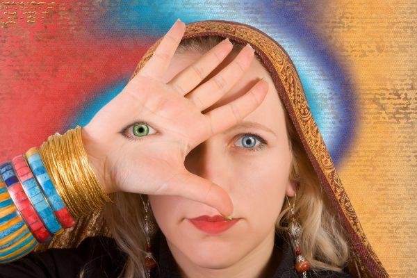 abriendo el chakra del tercer ojo