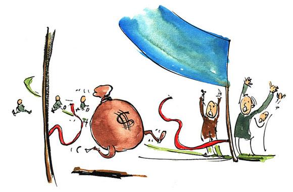 Lente de dinero