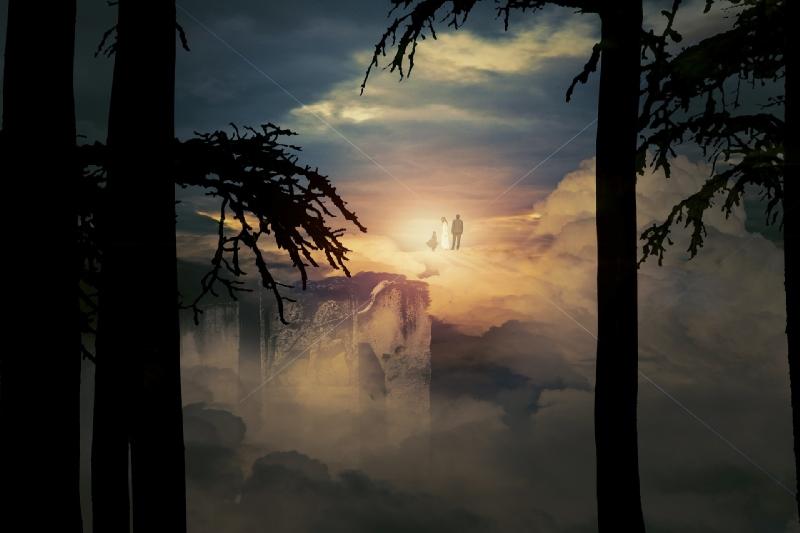 cielo del reino psíquico
